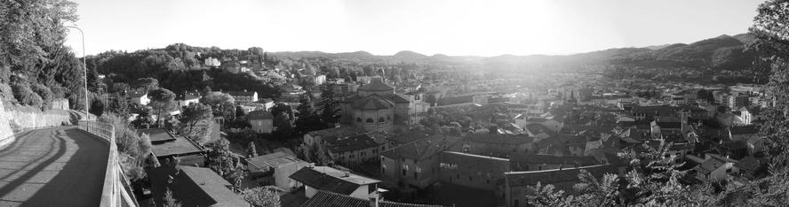 a panorama of the beautiful village of mendrisio.